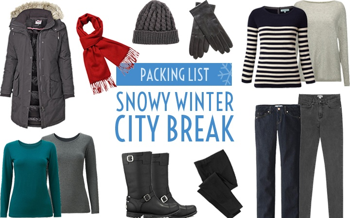What to pack for a snowy winter city break – On the Luce travel blog