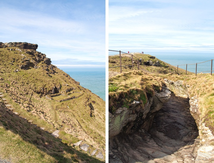 Archaeological discoveries at Tintagel