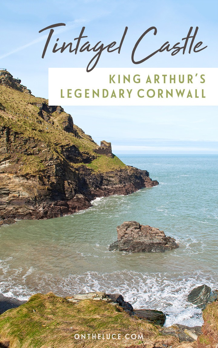 Exploring the coastal ruins of Tintagel Castle in Cornwall – where Dark Age history meets the myths and legends of King Arthur in a spectacular setting overlooking the sea. #Cornwall #Tintagel