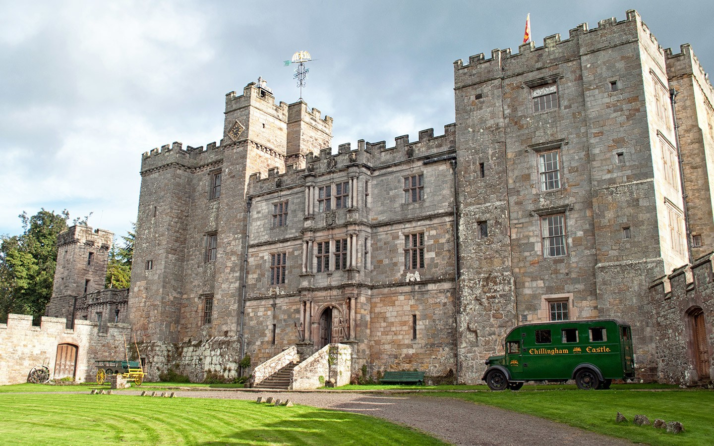 Haunted Chillingham Castle