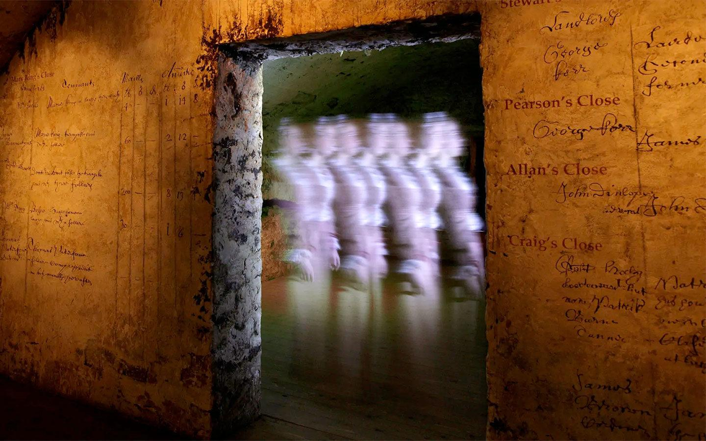 Paranormal activity at Mary King's Close in Edinburgh