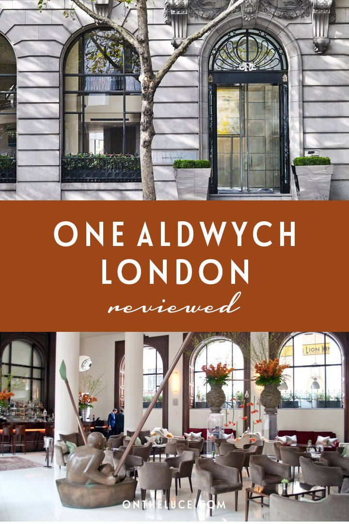 A five-star stay at One Aldwych in London, a luxury escape at the heart of the city's theatreland with underground, pool spa, lobby bar and restaurant. #London #hotel #5star