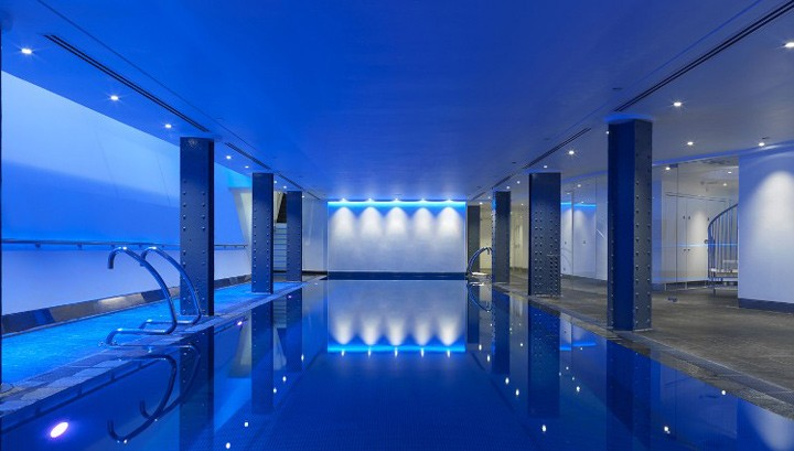 Swimming pool at the One Aldwych hotel London