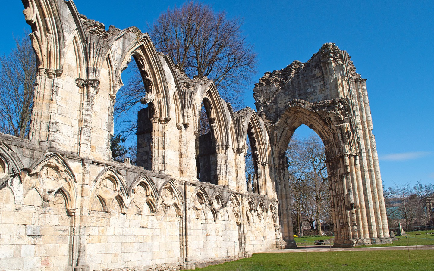 Ruins of York Abbey
