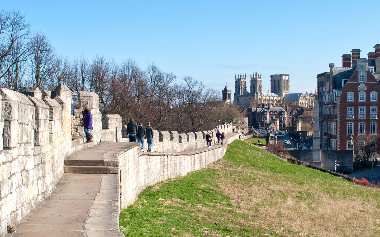 York's Roman city walls