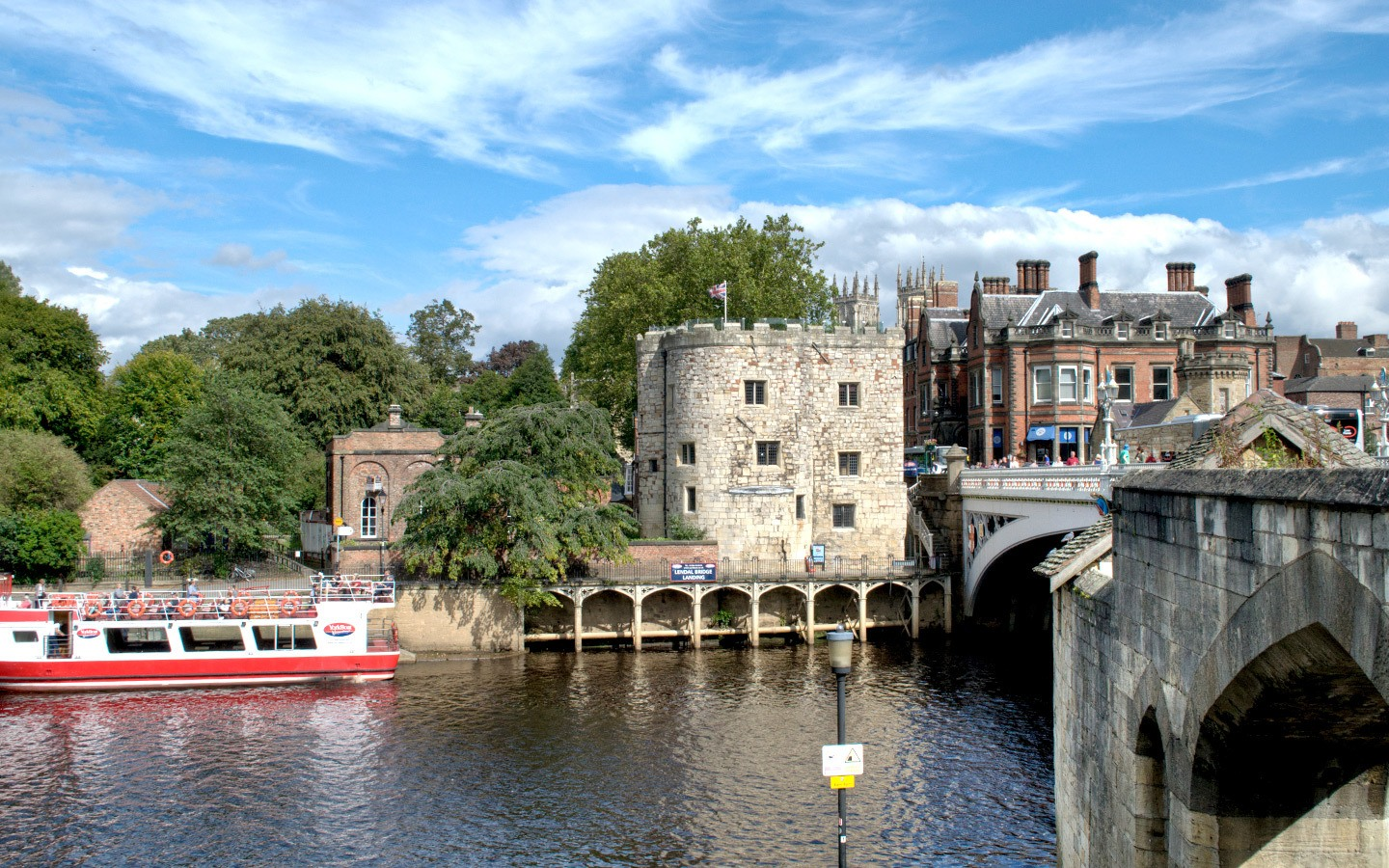 Boat trips on the River Ouse in York