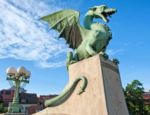 Ljubljana's Dragon Bridge