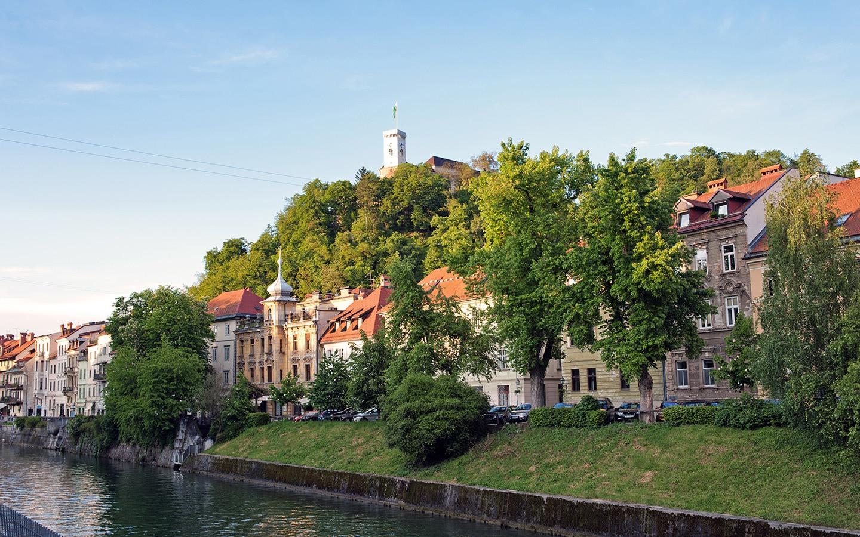 Ljubljana's hilltop castle