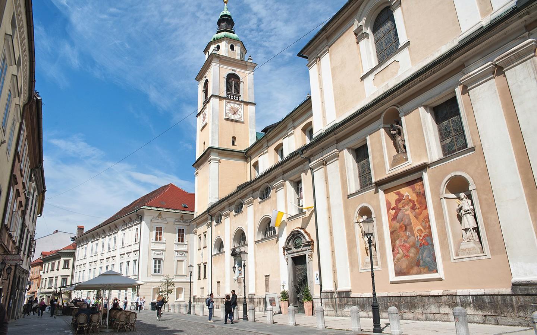 Old town Ljubljana, Slovenia