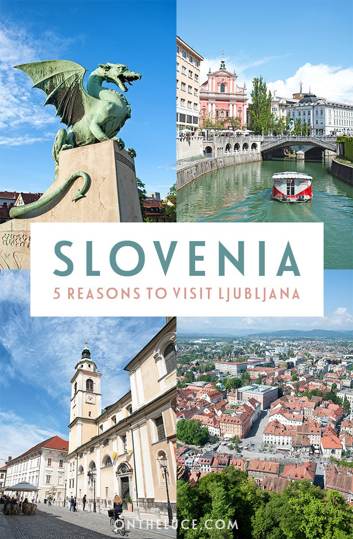 Why visit Ljubljana? Five reasons to add this beautiful city to your travel wishlist #Ljubljana #Slovenia #ifeelsLOVEnia #Balkans
