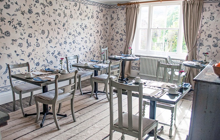 Dining room at the Old Rectory Hastings