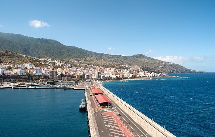 Docked in La Palma