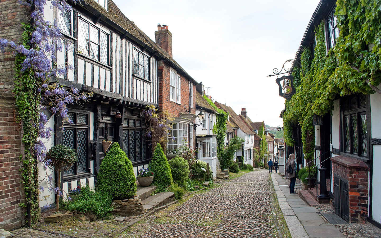 Mermaid Street in Rye, East Sussex