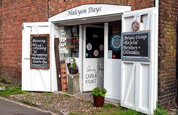 Antique shops in Rye