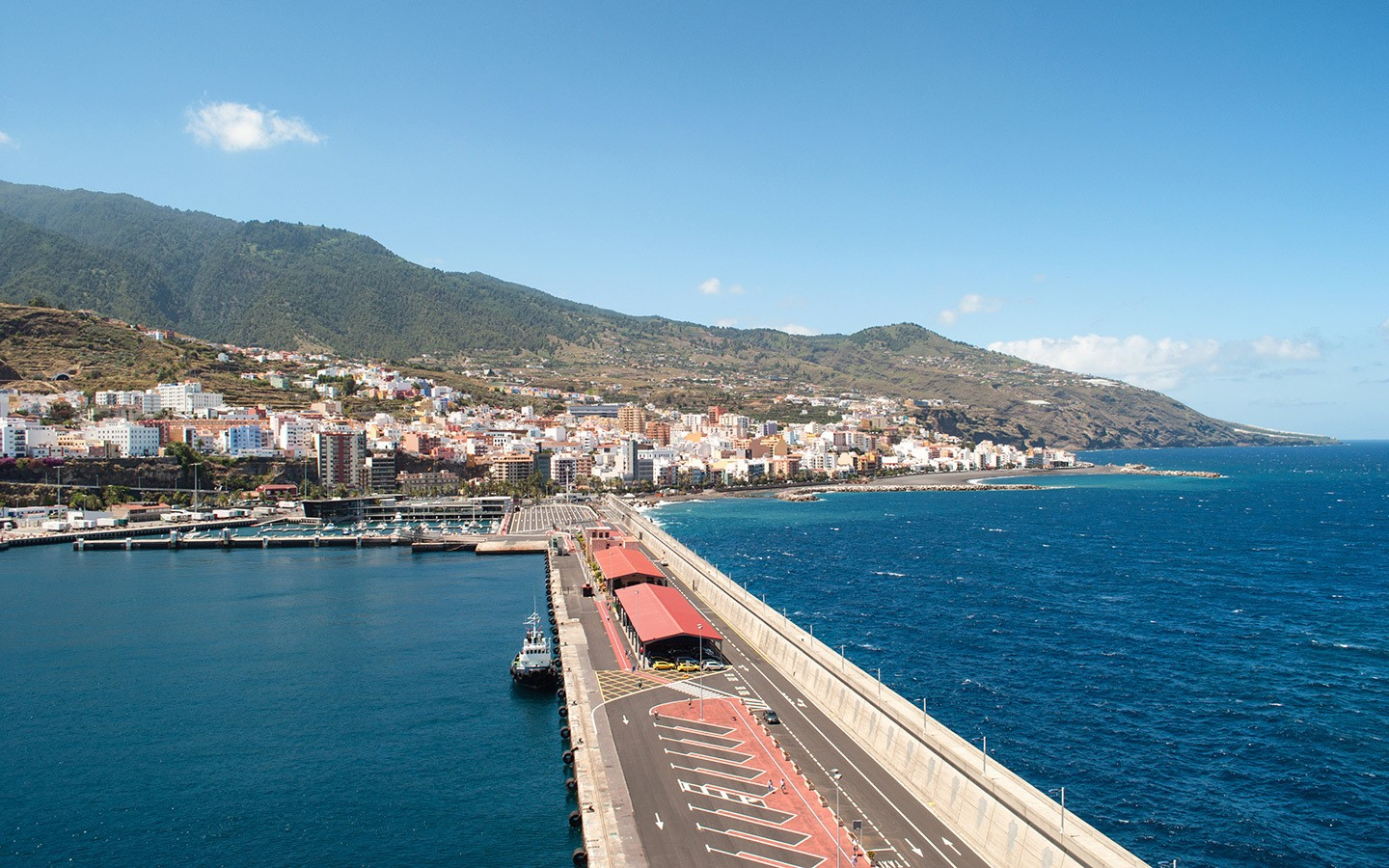 Docked in La Palma, Canary Islands