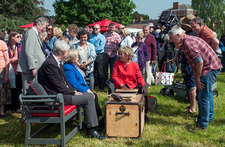 Antiques Roadshow filming