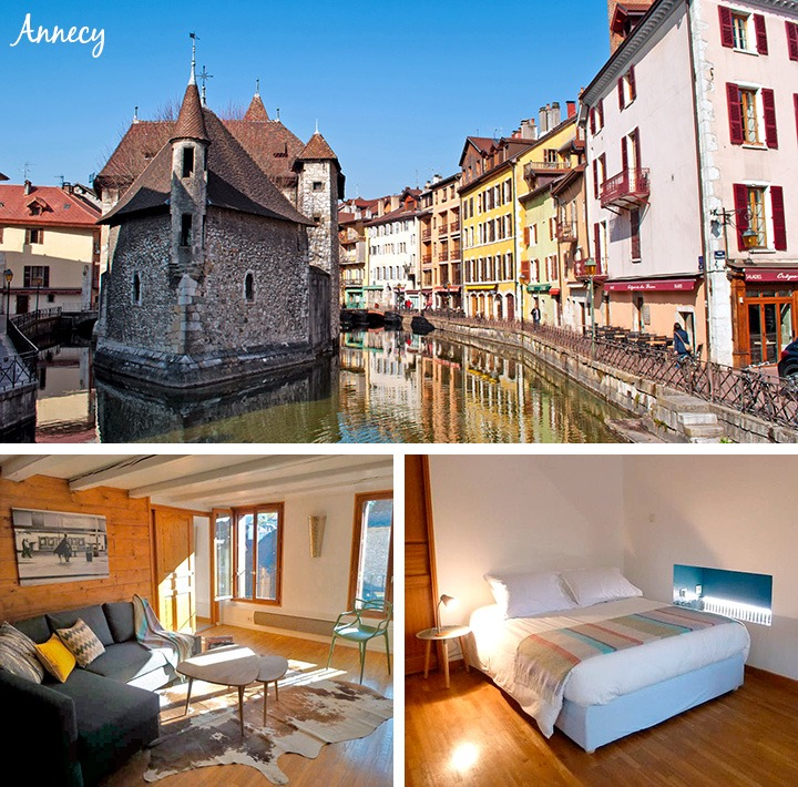 AirBnB in Annecy, France