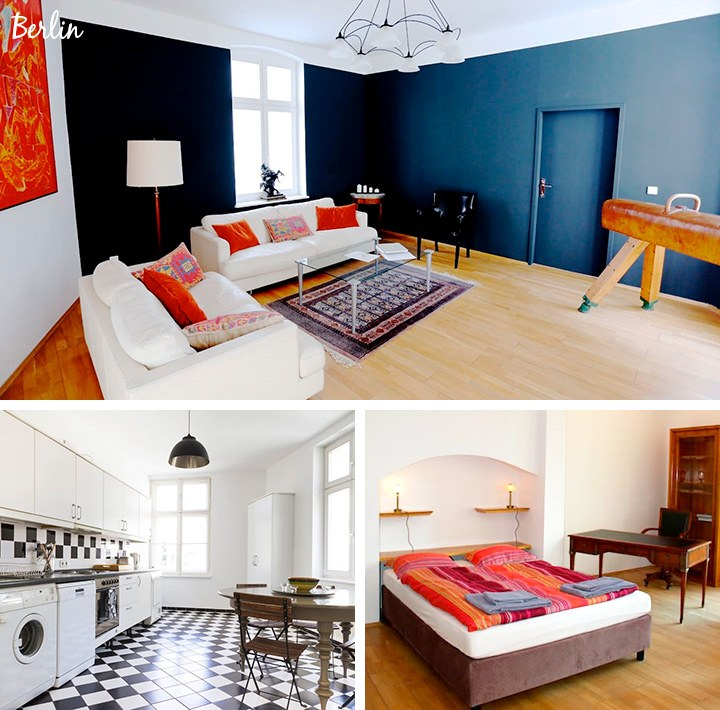AirBnB in Berlin, Germany