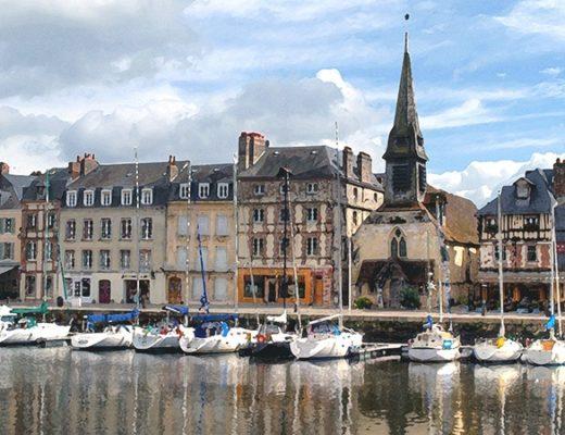 An artistic weekend in Honfleur, Normandy