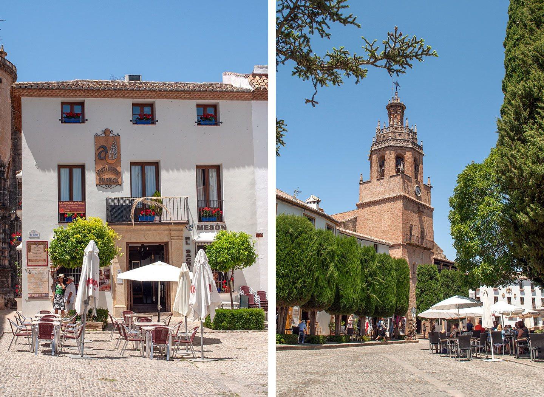 Cafés in Ronda, Spain