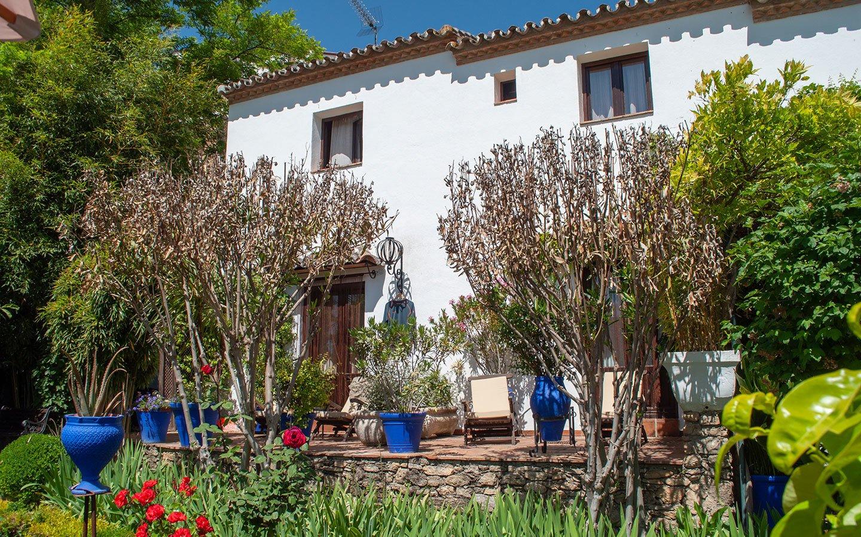 The Alavera de los Banos hotel in Ronda