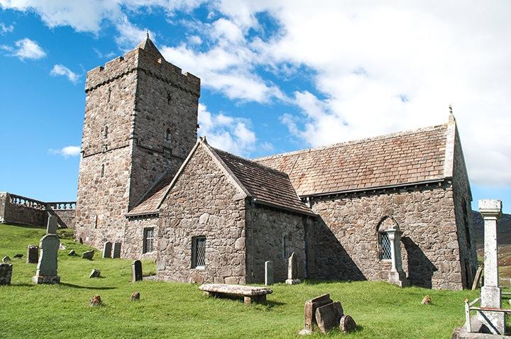 St Clements Church, Isle of Harris