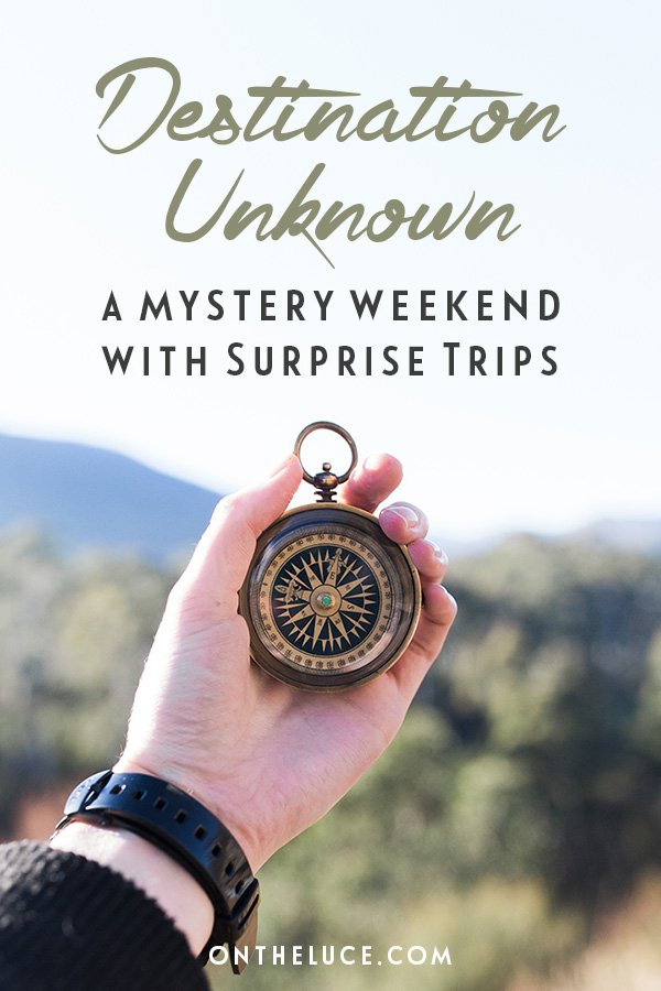 Destination unknown: A mystery weekend with Surprise Trips