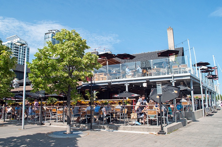 Amsterdam Brewhouse, Toronto waterfront