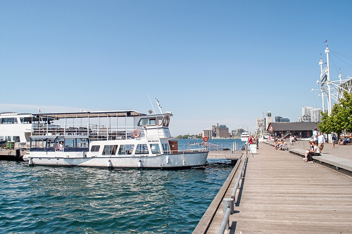 Toronto boat trip