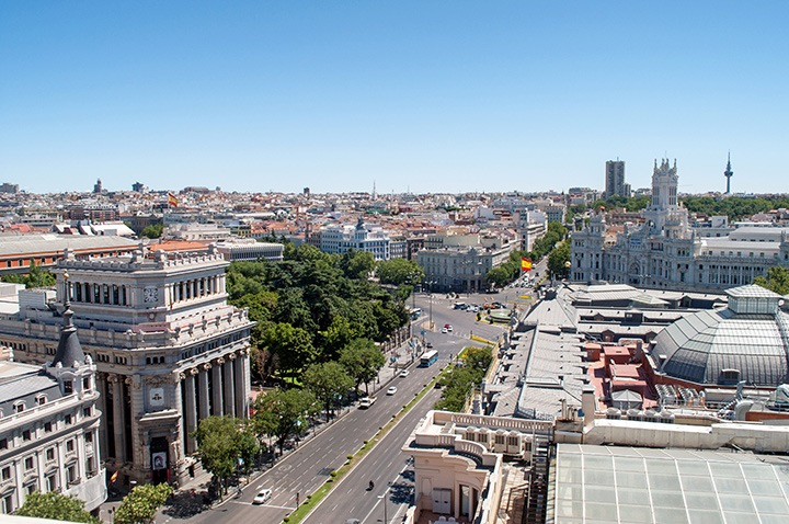 Madrid city views