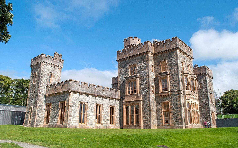 Gothic Lews Castle in Stornaway