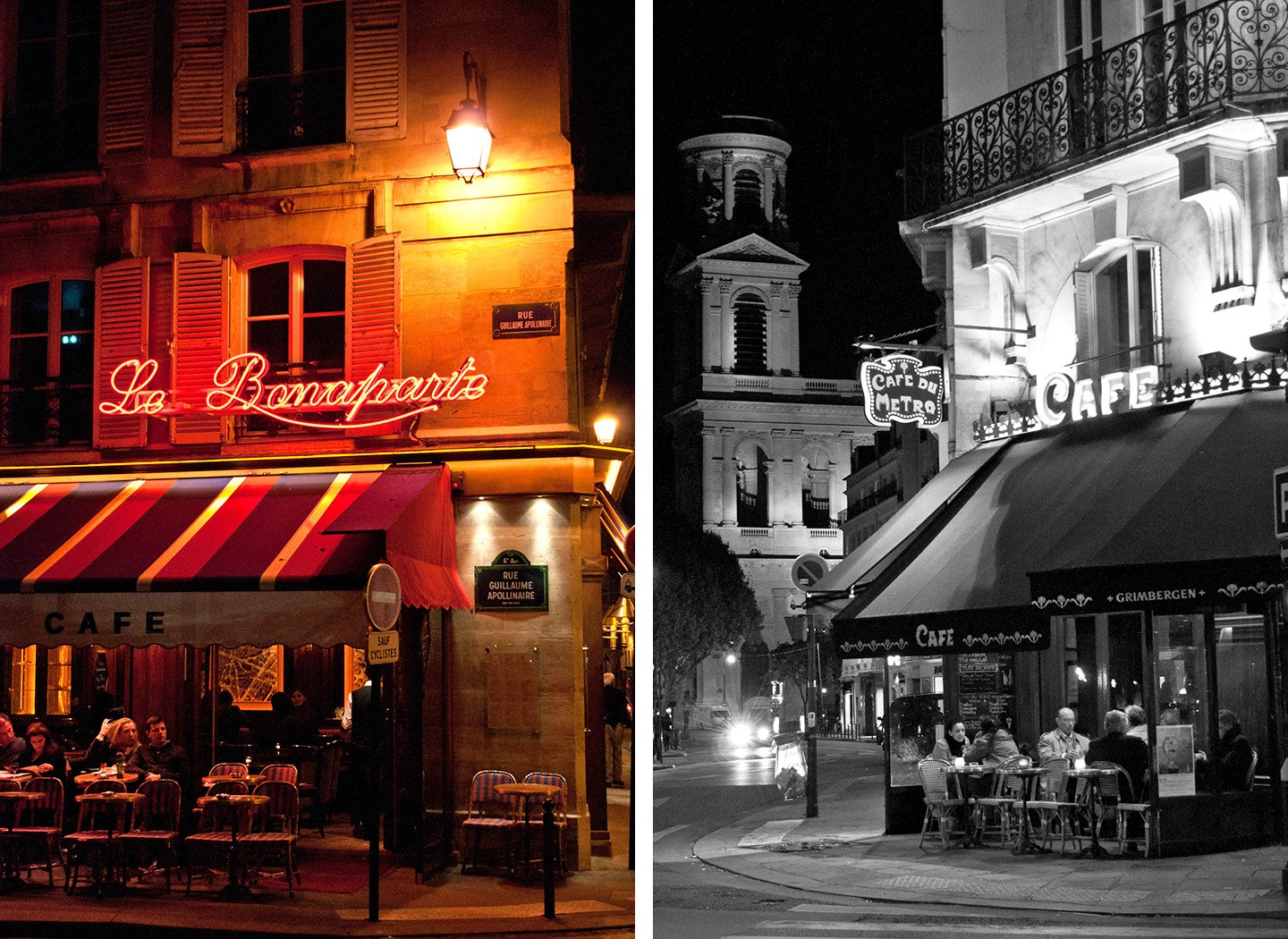 Cafes in Paris, France