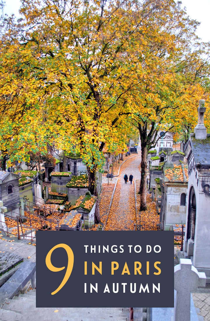 Paris in the fall: 9 things to do in Paris in autumn, including park walks, exhibition openings, hot chocolate and harvest festivals. #Paris #autumn #fall