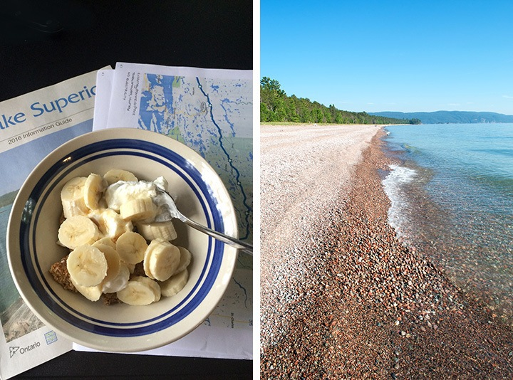 Breakfast at Lake Superior