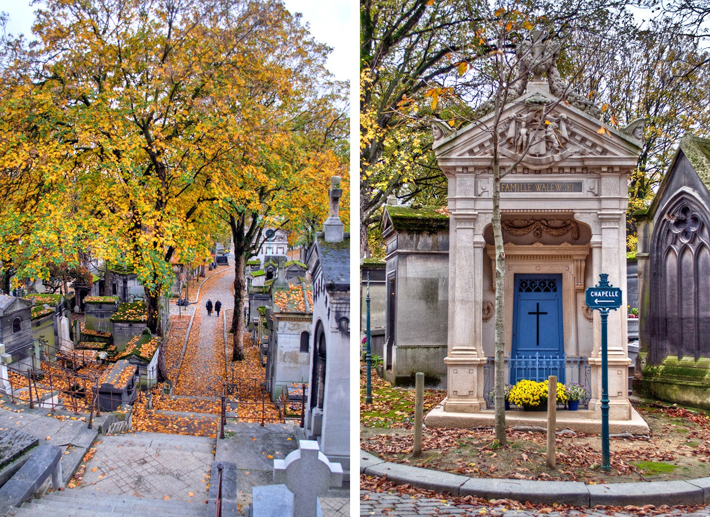 Père-Lachaise cemetery in Paris
