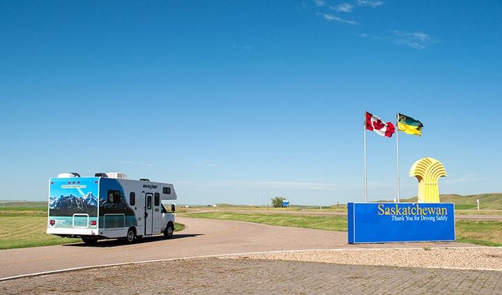 Saskatchewan provincial line