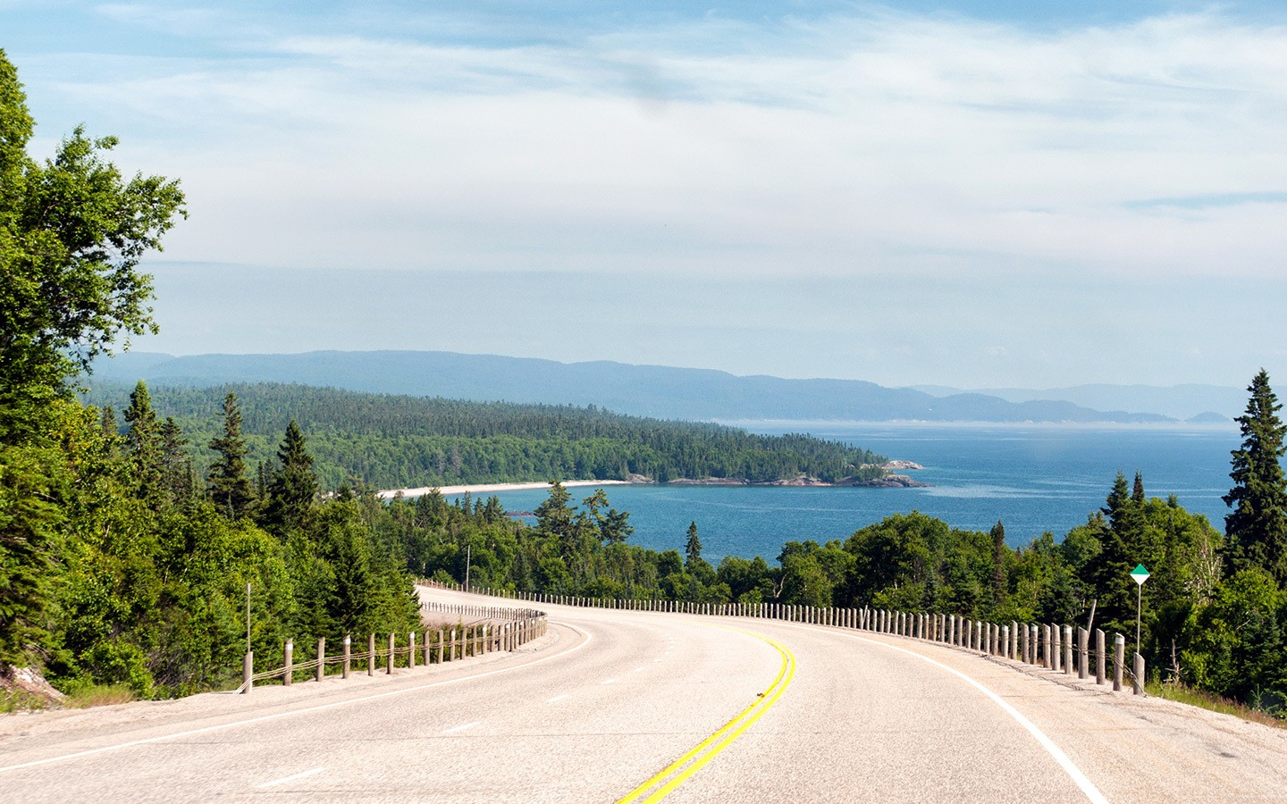 Views of the road to Lake Superior