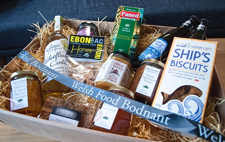 Welsh food hamper