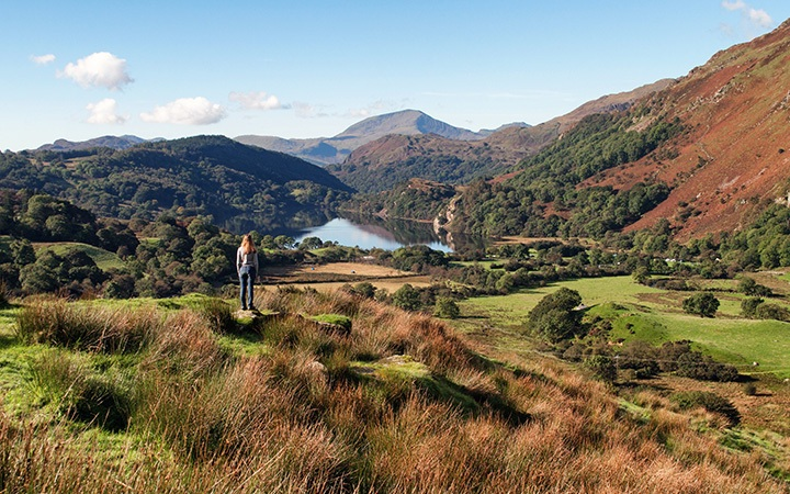 A road trip through Snowdonia National Park in North Wales, with clear lakes, mountain peaks and forests – could this be Wales' most scenic driving route?