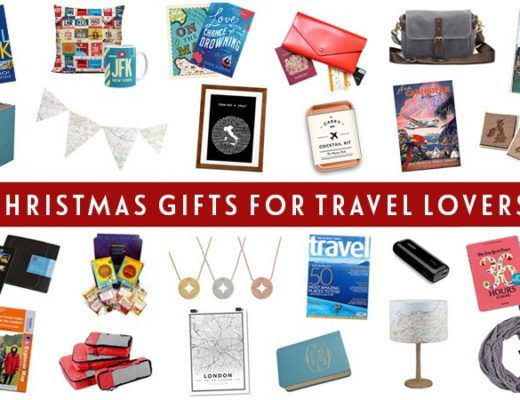 24 of the best, affordable Christmas gifts for travel lovers in 2017, with pro packing tools, travel themed home decor and books to inspire your wanderlust