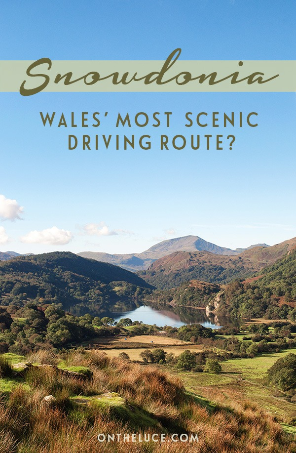 A road trip through Snowdonia National Park in North Wales, with clear lakes, mountain peaks and forests – could this be Wales' most scenic driving route? #Wales #Snowdonia #roadtrip #drivingroute #UK