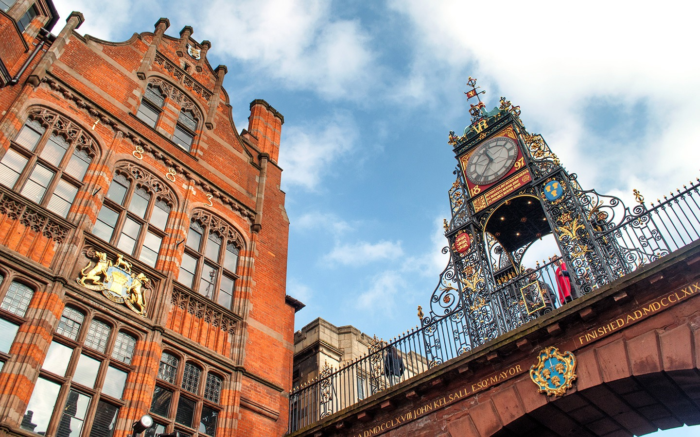 Chester's Eastgate Clock on a UK weekend break