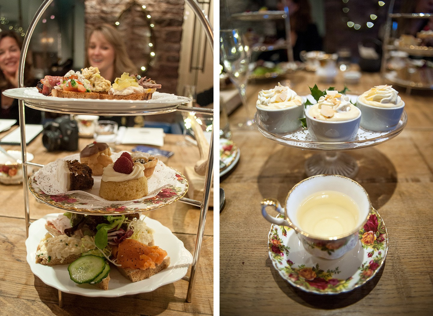 Afternoon tea at the Angel Abergavenny