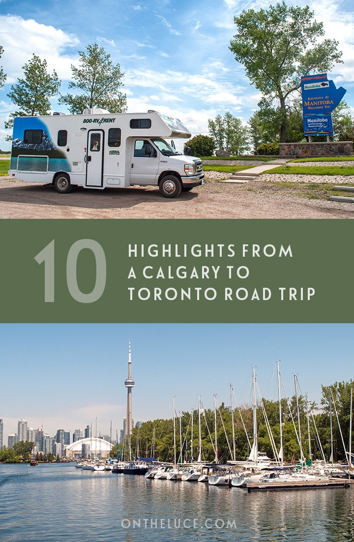 10 highlights from a Calgary to Toronto road trip, Canada, from spectacular sunsets and wildlife encounters to campfire nights and great food #roadtrip #Canada