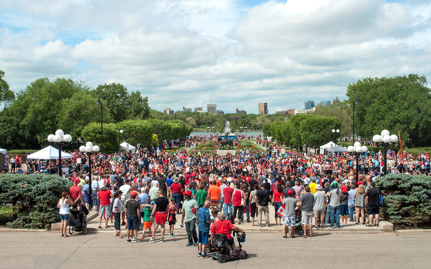 Canada Day celebrations in Regina, Saskatchewan
