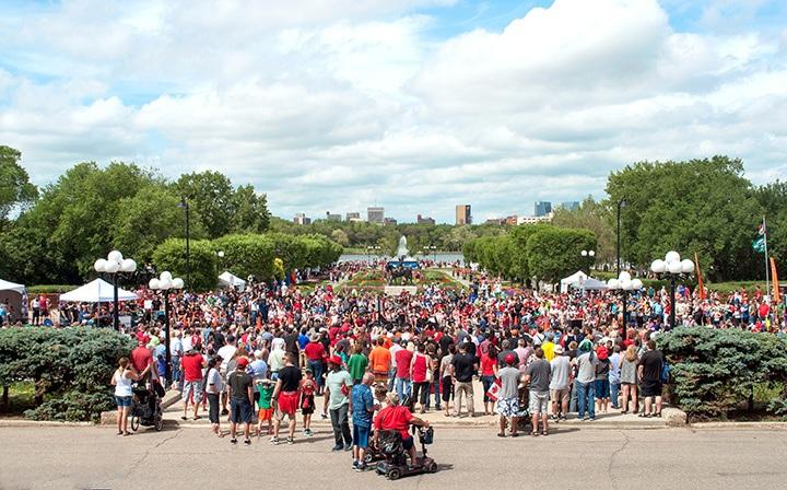Canada Day in Regina