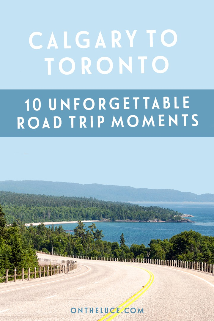 My most memorable moments from a RV road trip from Calgary to Toronto, from spectacular sunsets and wildlife encounters to campfire nights and great food.