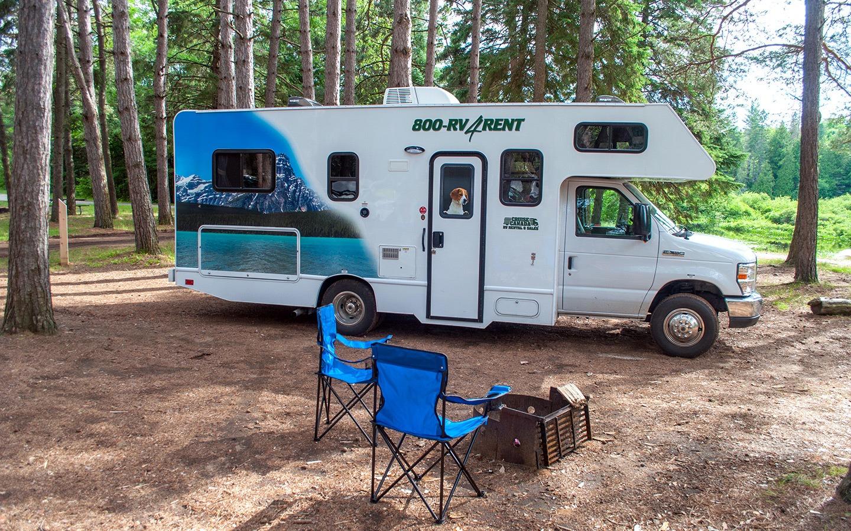 Cruise Canada RV in Algonquin Provincial Park