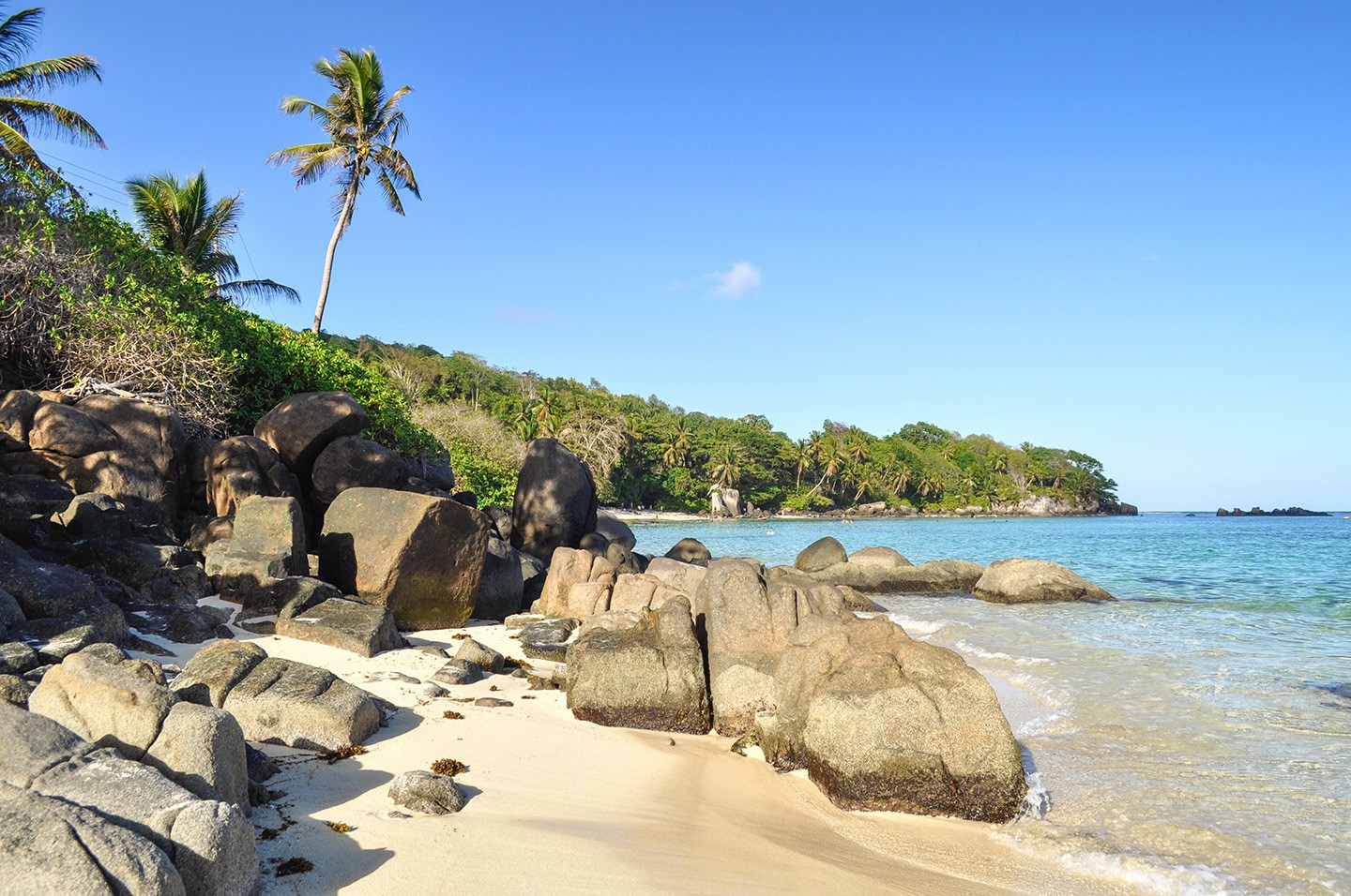 Anse Royale beach in the Seychelles