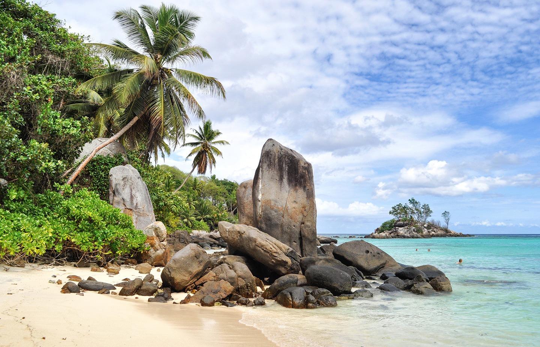 Anse Royale beach Mahé Seychelles